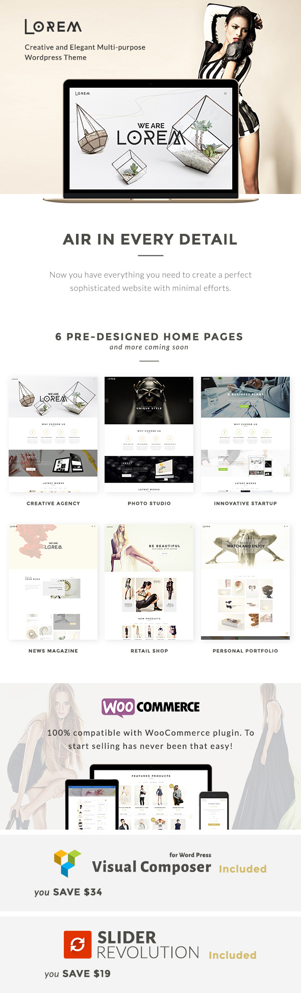Lorem - Creative & Fashion Multipurpose Store Theme