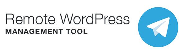 Herramienta de gestión remota de WordPress